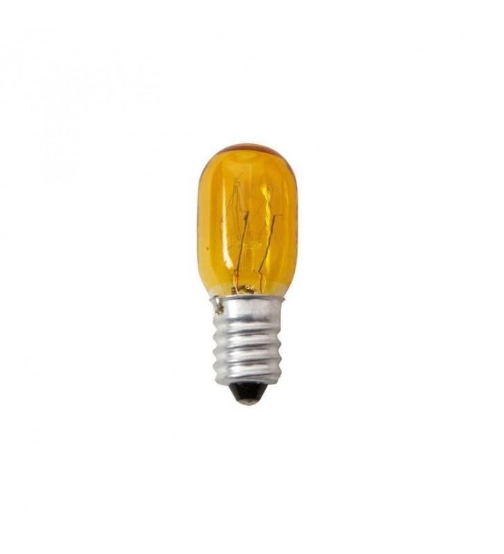 ΛΑΜΠΑΚΙ Ε14 5W 230V COLOR ΝΥΚΤΑΣ κιτρινο eurolamp