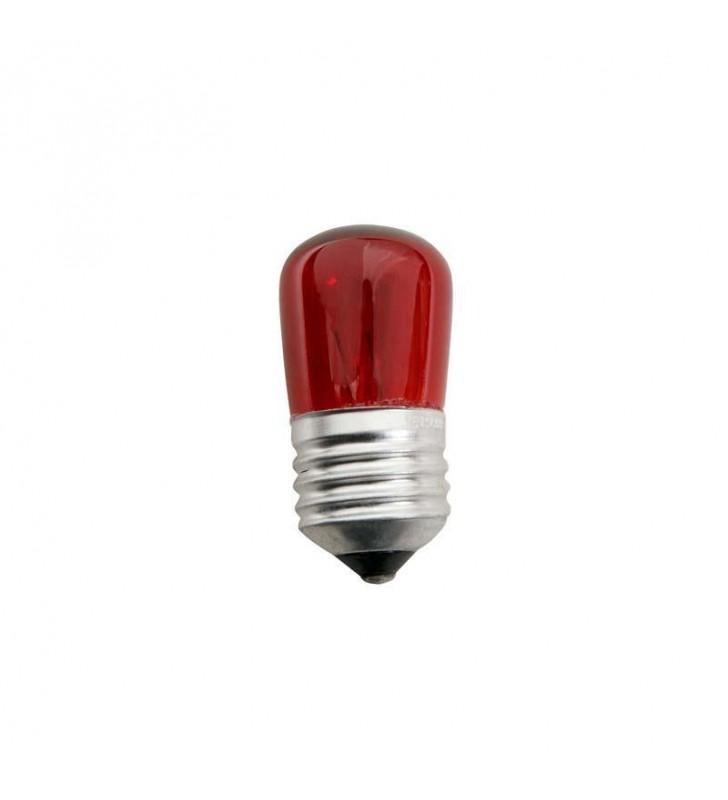 ΛΑΜΠΑΚΙ E27 5W 230V COLOR ΝΥΚΤΑΣ κοκκινο eurolamp