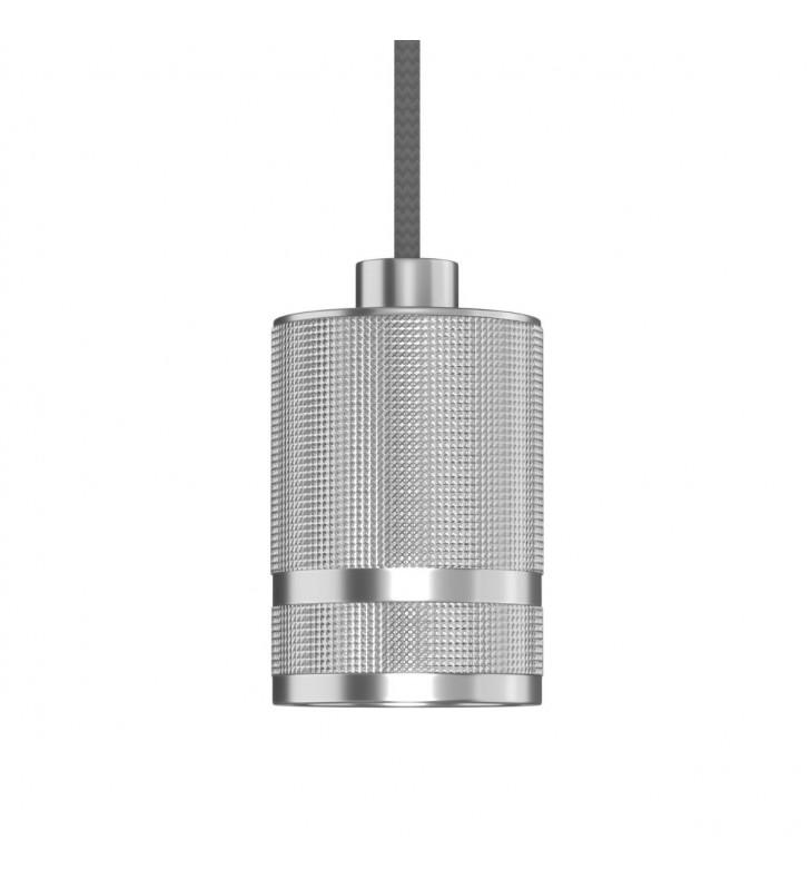 Φωτιστικό Μονόφωτο Μεταλλικό με ντουί χρώμα Inox ματ DD-AL-0010 - Alpha