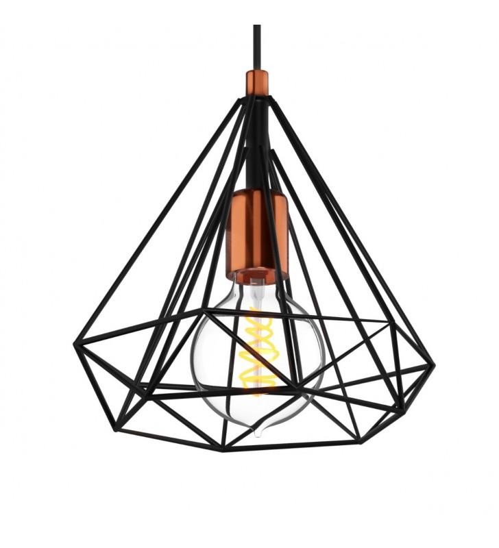 Φωτιστικό Μονόφωτο Μεταλλικό, Μαύρο χρώμα 22x25 MEC-176525 - Alpha
