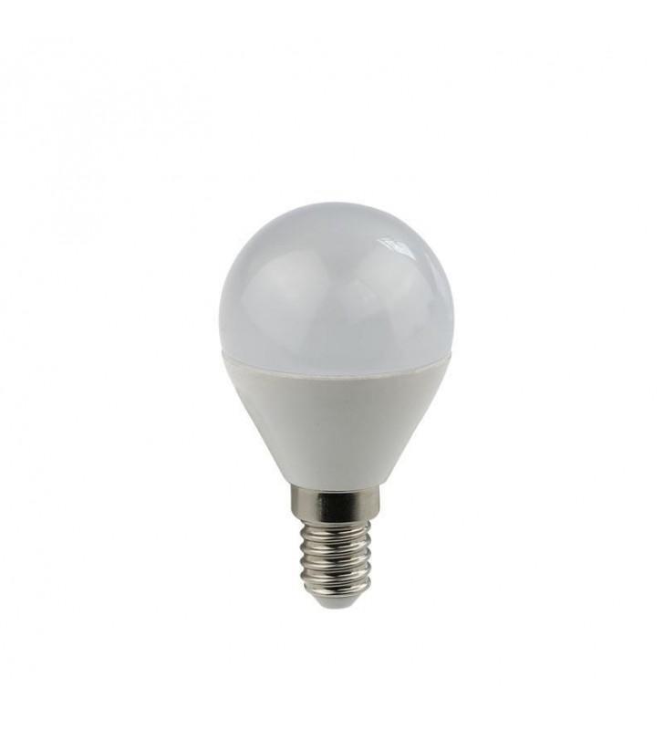 ΛΑΜΠΑ LED ΣΦΑΙΡΙΚΗ 5W Ε14 6500K 240V EUROLAMP (14780230)