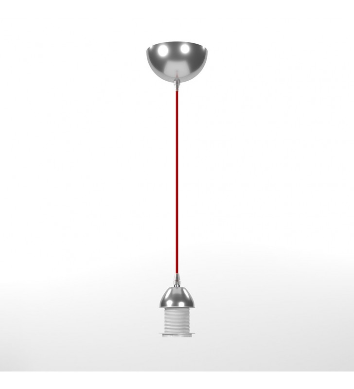 Καλώδιο Υφασμάτινο Κόκκινο 150 cm (Ε27) - MedLight