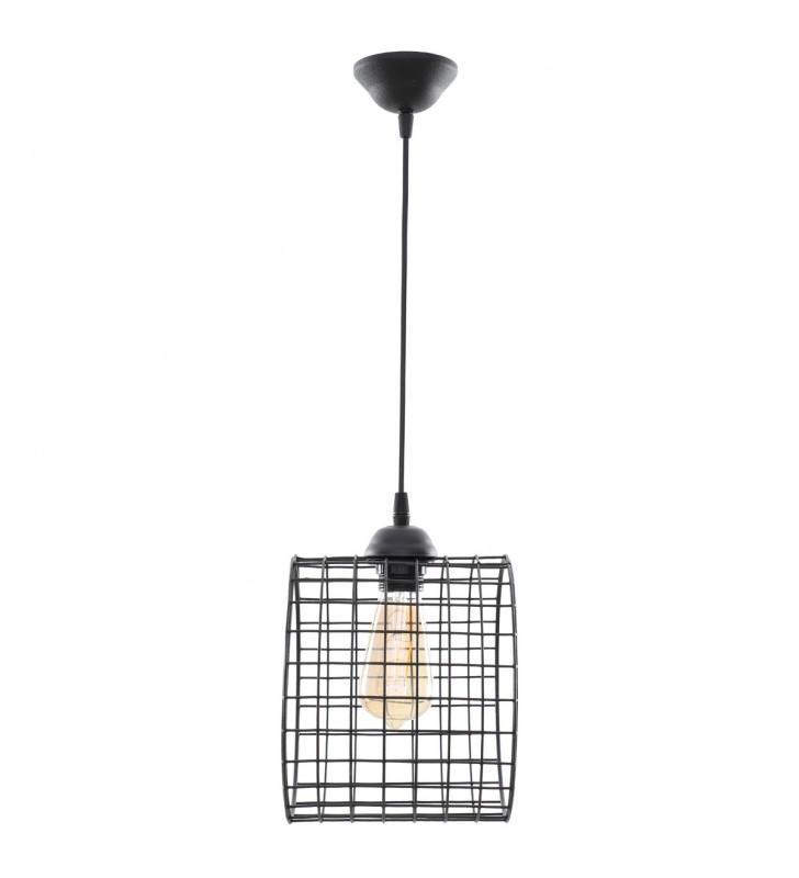 Φωτιστικό Μονόφωτο Μεταλλικό Κύλινδρος, Μαύρο χρώμα 18x21 MEC-2024201 - Alpha