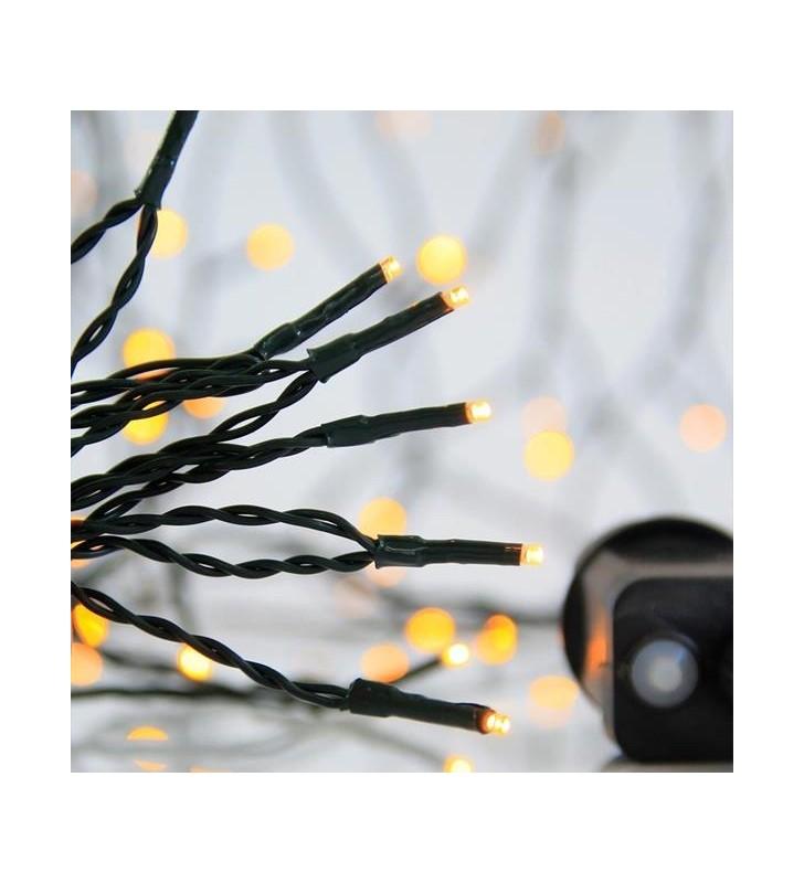 ΣΕΙΡΑ, 300 LED 3mm, 31V, 8 ΠΡΟΓΡ/ΤΑ, ΠΡΑΣΙΝΟ ΚΑΛ. ΘΕΡΜΟ ΛΕΥΚΟ LED - EUROLAMP (600-11541)