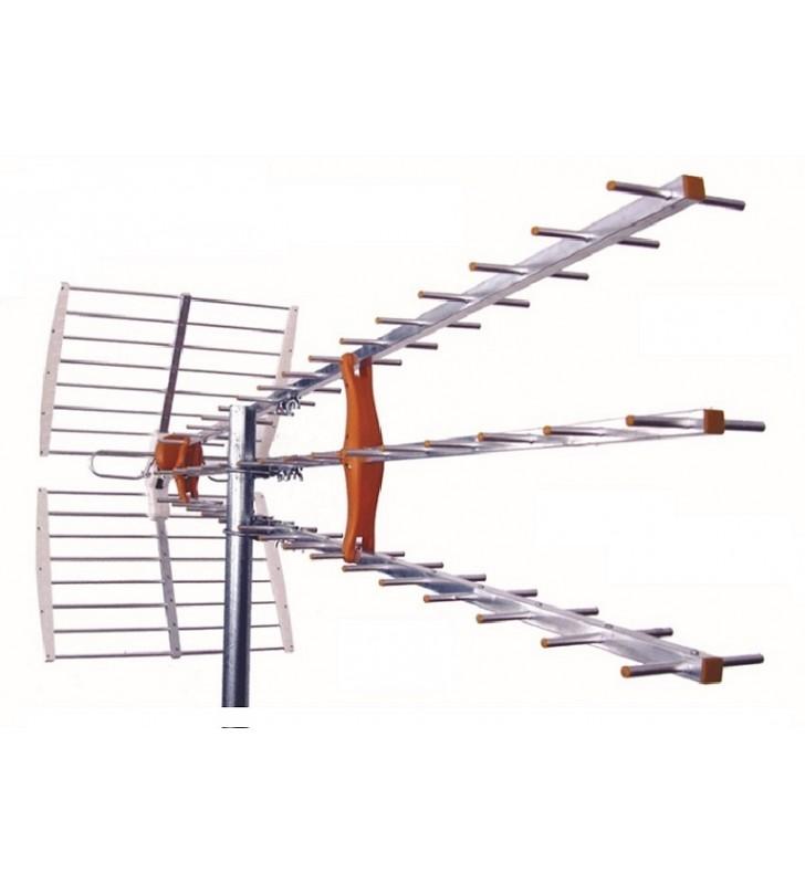 ΚΕΡΑΙΑ UHF ΤΡΙΠΛΗ ΜΕΓΑΛΗ TEL-160