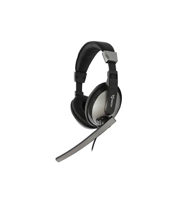 ΑΚΟΥΣΤΙΚΑ STEREO HEADSET WITH MIC - SBOX (HS-302)