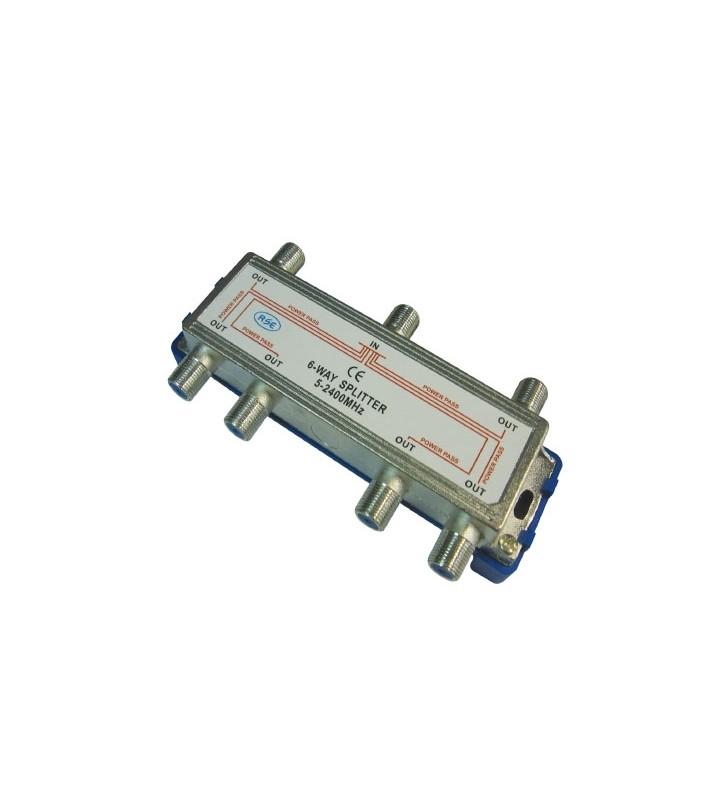 ΔΙΑΚΛΑΔΩΤΗΣ F 6633D 1 ΠΡΟΣ 6 (5-2400Μhz)