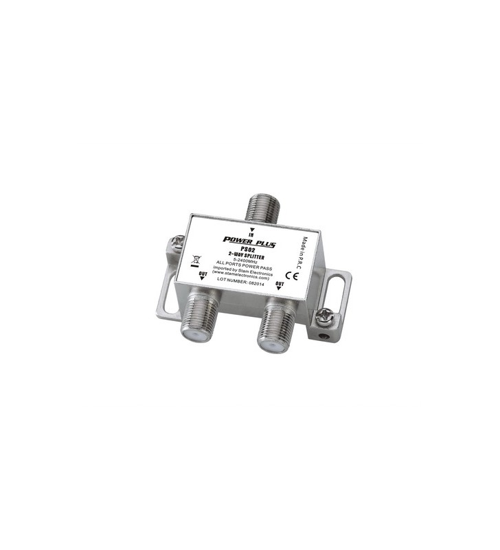 ΔΙΑΚΛΑΔΩΤΗΣ F 1 ΠΡΟΣ 2 (5-2400Μhz) PS02 POWER PLUS