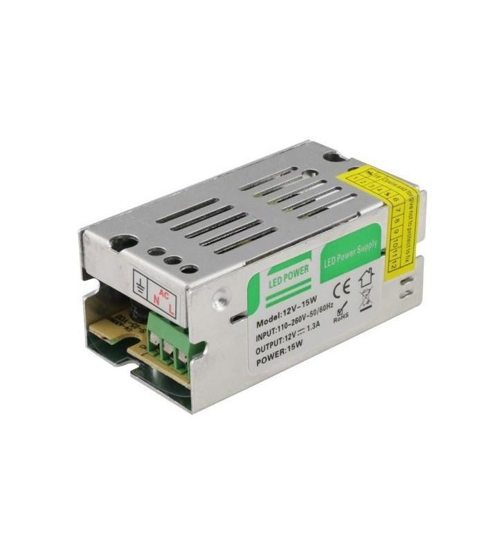 ΤΡΟΦΟΔΟΤΙΚΟ ΜΕΤΑΛΛΙΚΟ 12V DC 10W IP20 - EUROLAMP (147-70501)