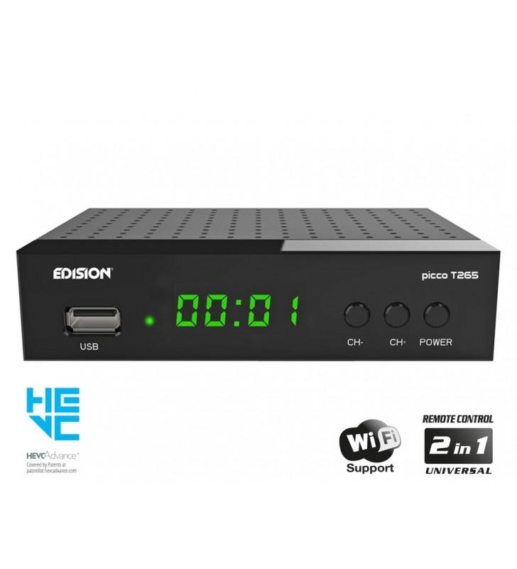 Επίγειος Ψηφιακός αποκωδικοποιητής DVB-T2, H.265, HEVC, PICCO T265 - EDISION (01-07-0023)