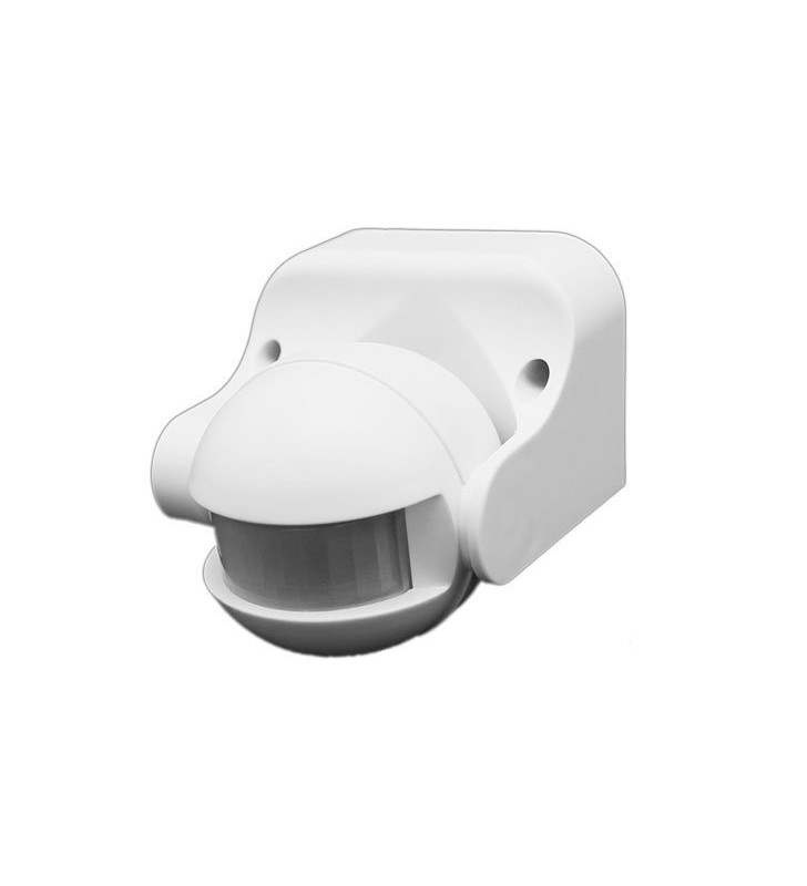 ΑΝΙΧΝΕΥΤΗΣ ΚΙΝΗΣΗΣ SE1-A1 PIR Motion Sensor 300W, 180°, 12m Max, IP44 - OPTONICA (7301)