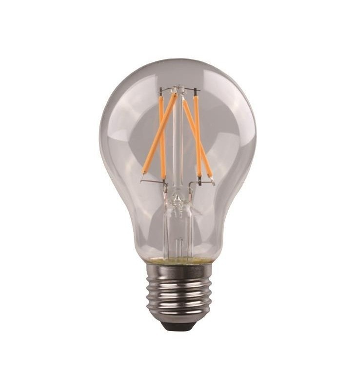 ΛΑΜΠΑ LED ΚΟΙΝΗ CROSSED FILAMENT 4.5W E27 3000K 220-240V CLEAR - EUROLAMP (147-78031)