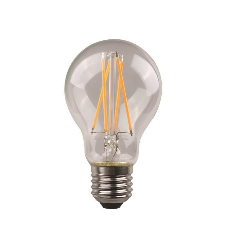 ΛΑΜΠΑ LED ΚΟΙΝΗ CROSSED FILAMENT 7W E27 3000K 220-240V CLEAR - EUROLAMP (147-78032)
