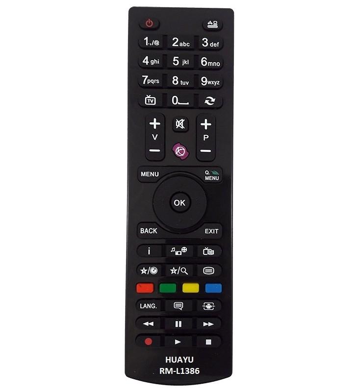MULTIPLE ΤΗΛΕΧΕΙΡΙΣΤΗΡΙΟ ΓΙΑ TV VESTEL - F&U - TURBOX - RM-L1386