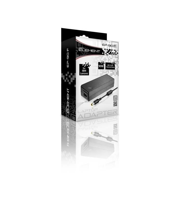 Notebook Adaptor 65W Element LENOVO 20V 4 x 1.7 x 11 - ELEMENT