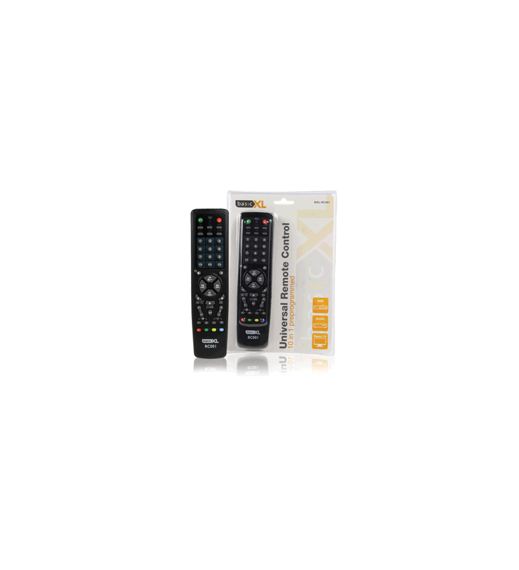 ΤΗΛΕΧΕΙΡΙΣΤΗΡΙΟ TV basic xl universal 10 ΣΕ 1 BXL-RC001