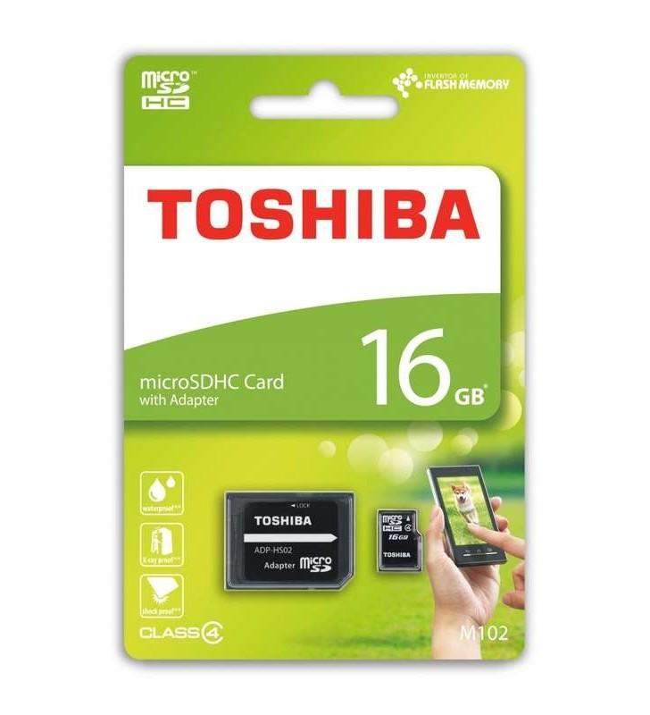 ΚΑΡΤΑ ΜΝΗΜΗΣ TOSHIBA MICRO SDHC 16GB ΜΕ ADAPTOR