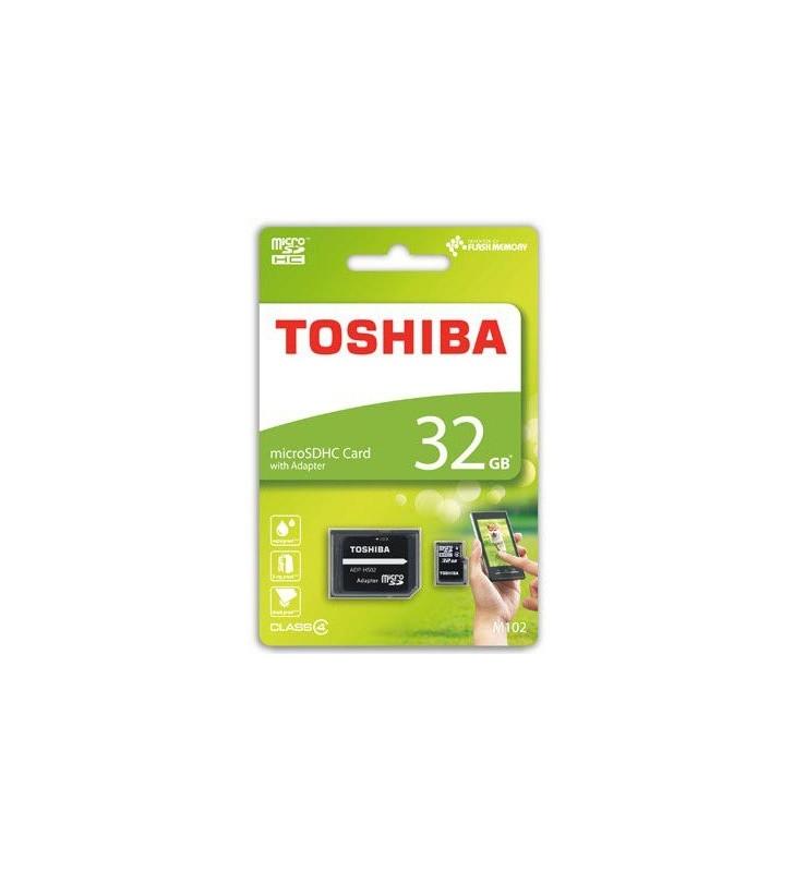 ΚΑΡΤΑ ΜΝΗΜΗΣ TOSHIBA MICRO SDHC 32GB ΜΕ ADAPTOR