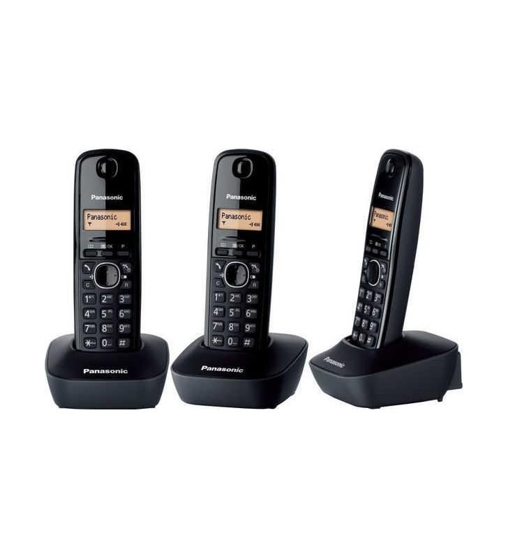 ΑΣΥΡΜΑΤΟ ΤΗΛΕΦΩΝΟ Panasonic KX-TG1611 Μαύρο-Μαύρο