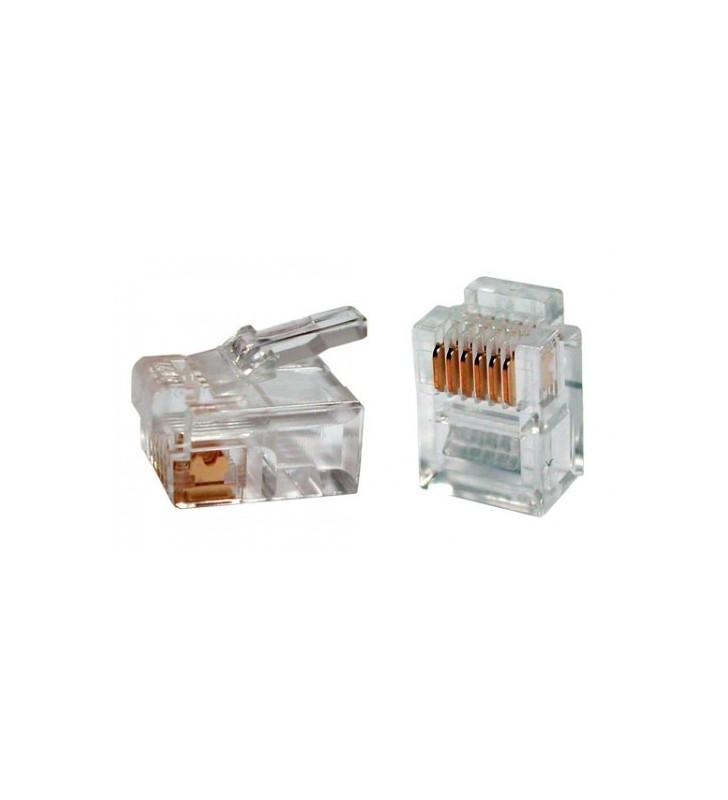 Φις Γραμμής Τηλεφώνου RJ11 connector 6 pin