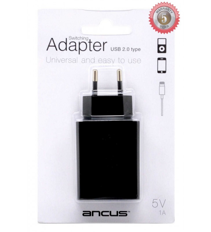 ΦΟΡΤΙΣΤΗΣ ΤΑΞΙΔΙΟΥ USB SWITCHING 5V 1A ANCUS