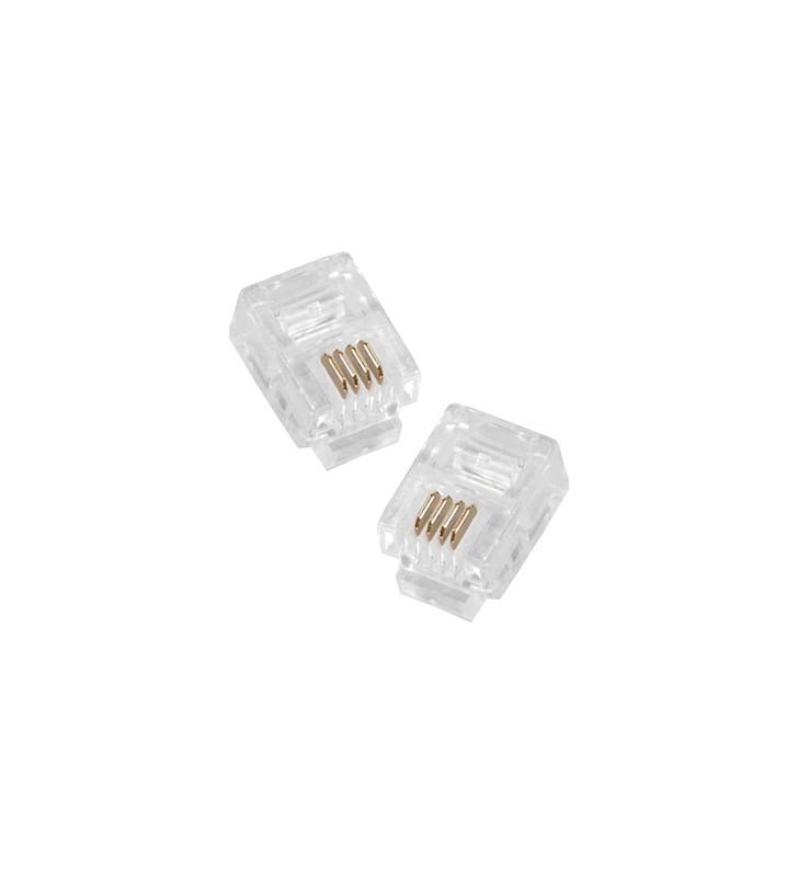 Φις Γραμμής Τηλεφώνου RJ11 connector 4 pin