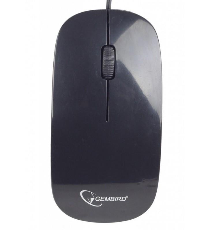 ΠΟΝΤΙΚΙ USB 1200dpi ΜΑΥΡΟ MUS-103 GEMBIRD