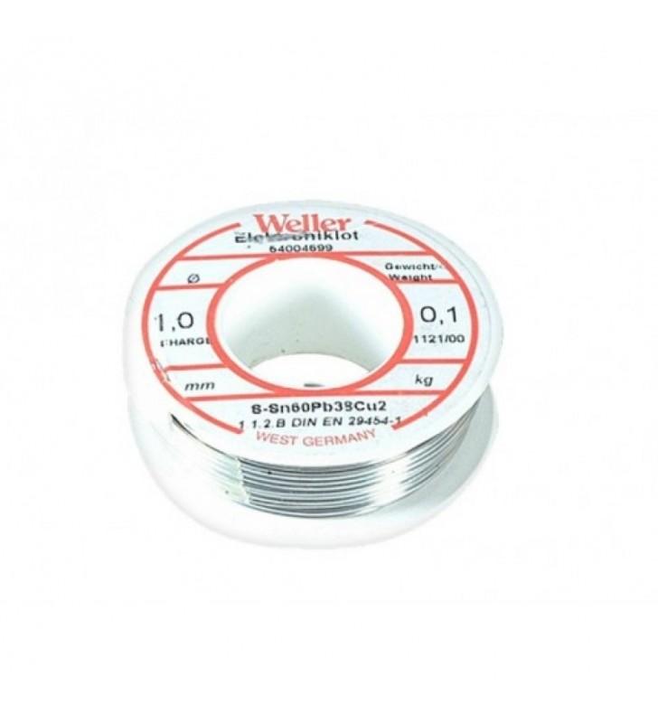 Κόλληση 100 γραμμαρίων 60/40 1mm WELLER