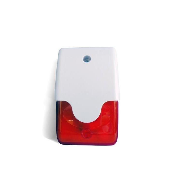 Σειρήνα Εσωτερικού χώρου με κόκκινο flash 12V DC