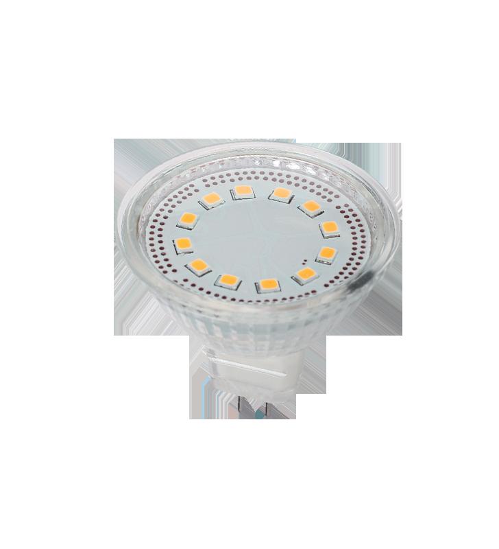 ΛΑΜΠΑ LED MR16 3w 12v 2700k SMD 240lm ELM