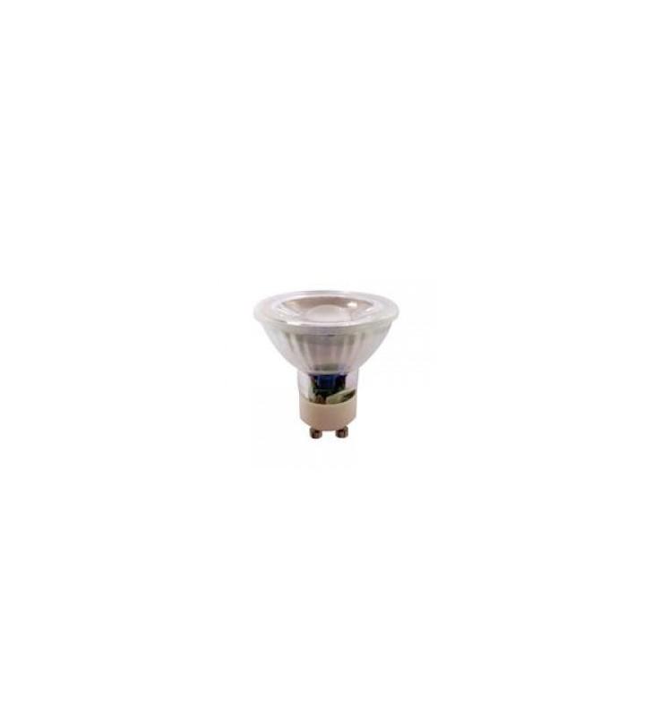 LED SPOT GU10 5watt 6500k COB EUROLAMP