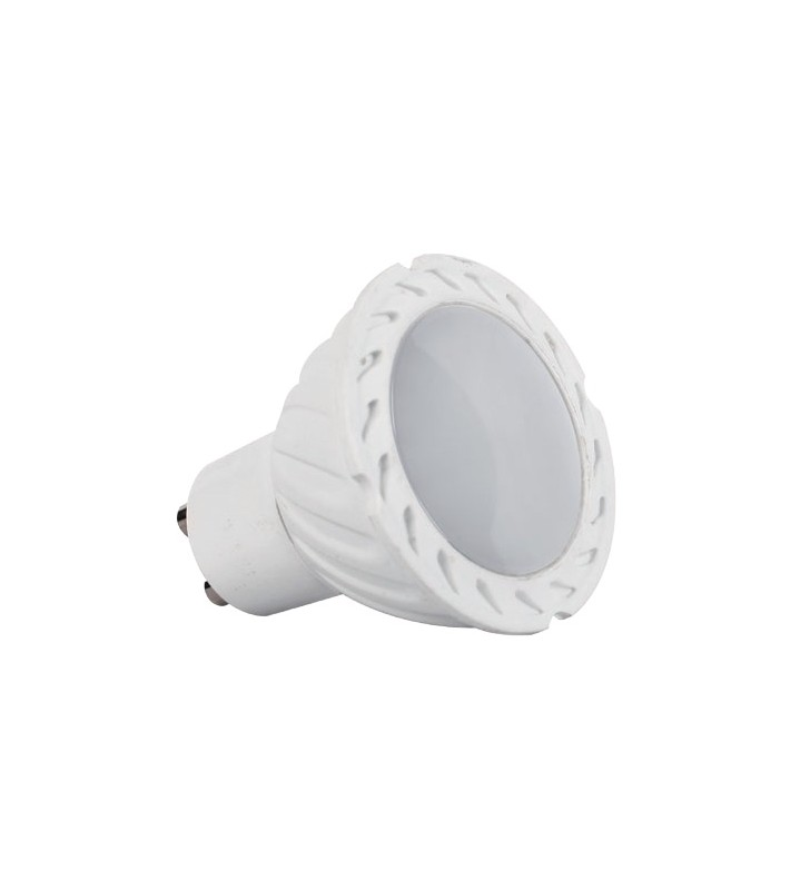 LED SPOT GU10 6watt 4000k LED SMD 120o ELM