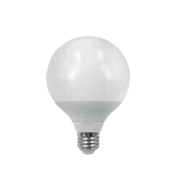 ΛΑΜΠΑ LED E27 20W GLOBE G120 3000K 1650 lm Elmark (99LED749)