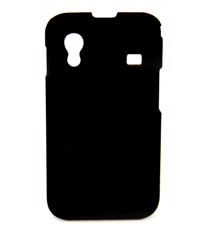 ΘΗΚΗ Faceplate Ancus για Samsung S5830 Galaxy Ace Velvet Feel Μαύρη