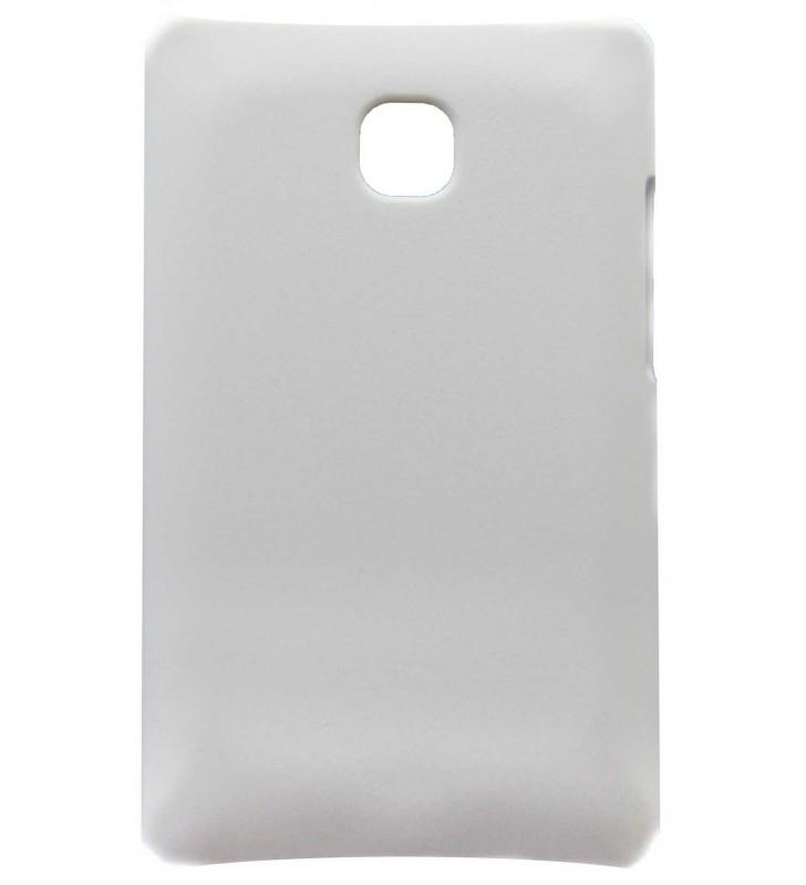 ΘΗΚΗ Faceplate Ancus για LG Optimus L3 II E430 Velvet Feel Λευκή