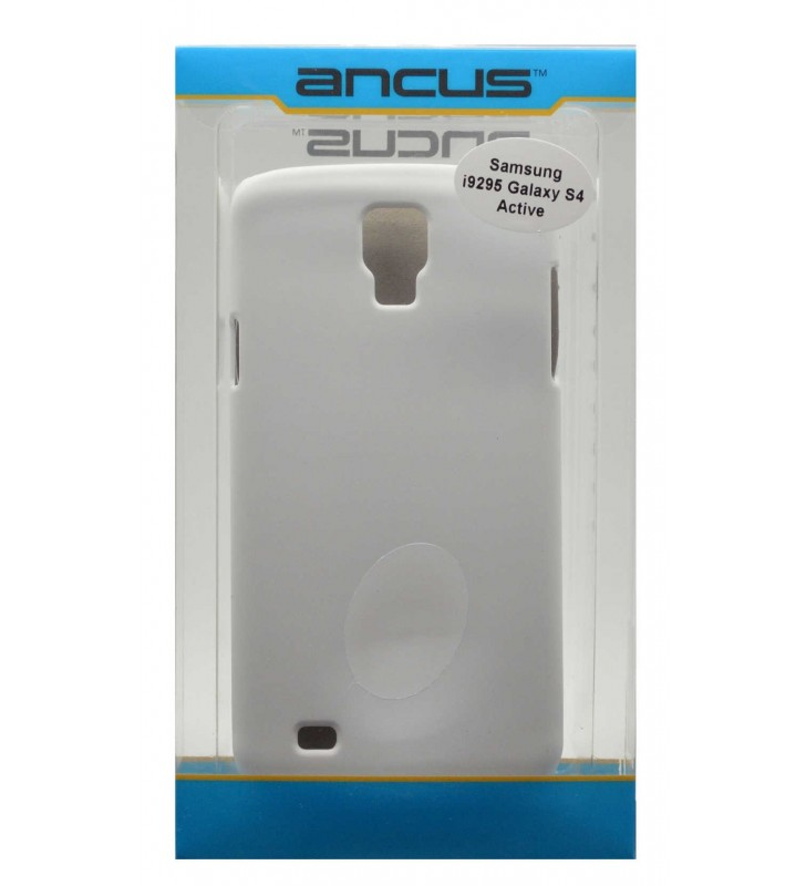 ΘΗΚΗ Faceplate Ancus για Samsung i9295 Galaxy S4 Active Velvet Feel Λευκή