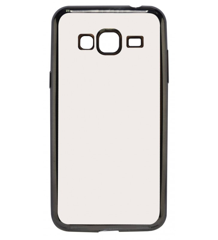 Θήκη Electroplating TPU Ancus για Samsung SM-J320F Galaxy J3 (2016) Μαύρη - Διάφανη