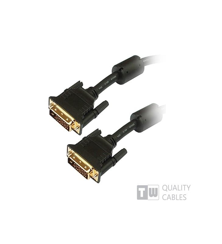 ΚΑΛΩΔΙΟ DVI D 21+1 ΑΡΣ/ΑΡΣ 5M Dual Link