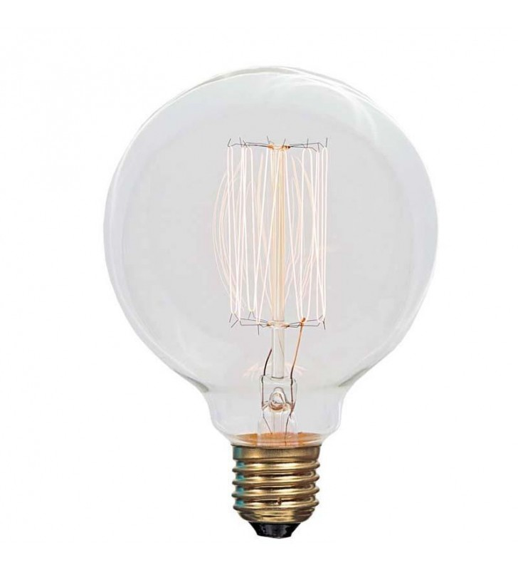 ΛAMΠA EDISON GLOBE Φ95 25W Ε27 240V (Eurolamp)