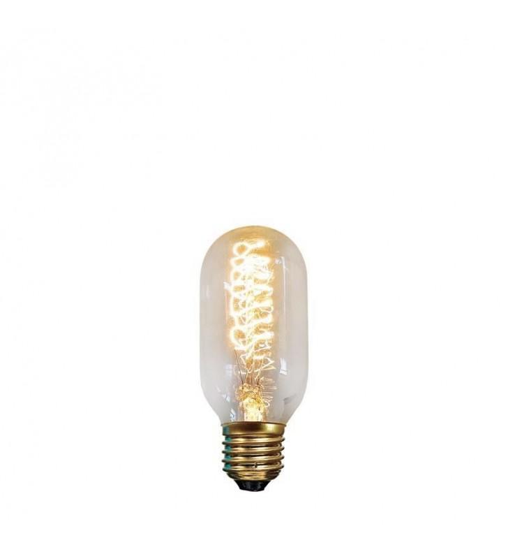 ΛAMΠA EDISON ΣΩΛΗΝΑΣ Τ45 40W Ε27 240V (Eurolamp)