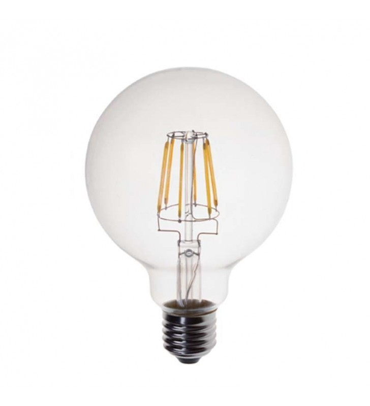 ΛΑΜΠΑ LED EDISON ΓΛΟΜΠΟΣ G95 FILAMENT DIMMABLE 10W Ε27 2700K 240V (Eurolamp) (14780954)