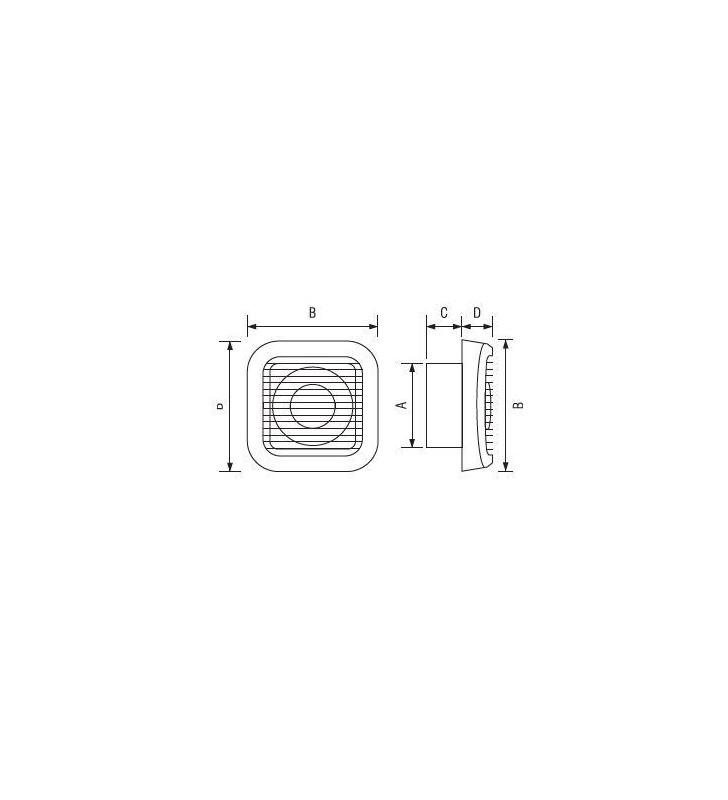 ΕΞΑΕΡΙΣΤΗΡΑΣ ΛΟΥΤΡΟΥ Φ100 98 ΚΥΒ/ΩΡΑ AN-V100 with valve, Elmark