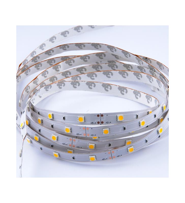 LED ΤΑΙΝΙΑ 7.2 watt 30 smd 5050 Led IP20 Θερμό Λευκό Optonica