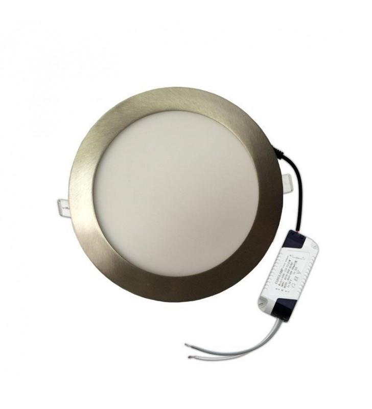ΠΑΝΕΛ LED Slim 20w 6500k 1800lm ΣΑΤΙΝΕ Ferrara (145-68000)