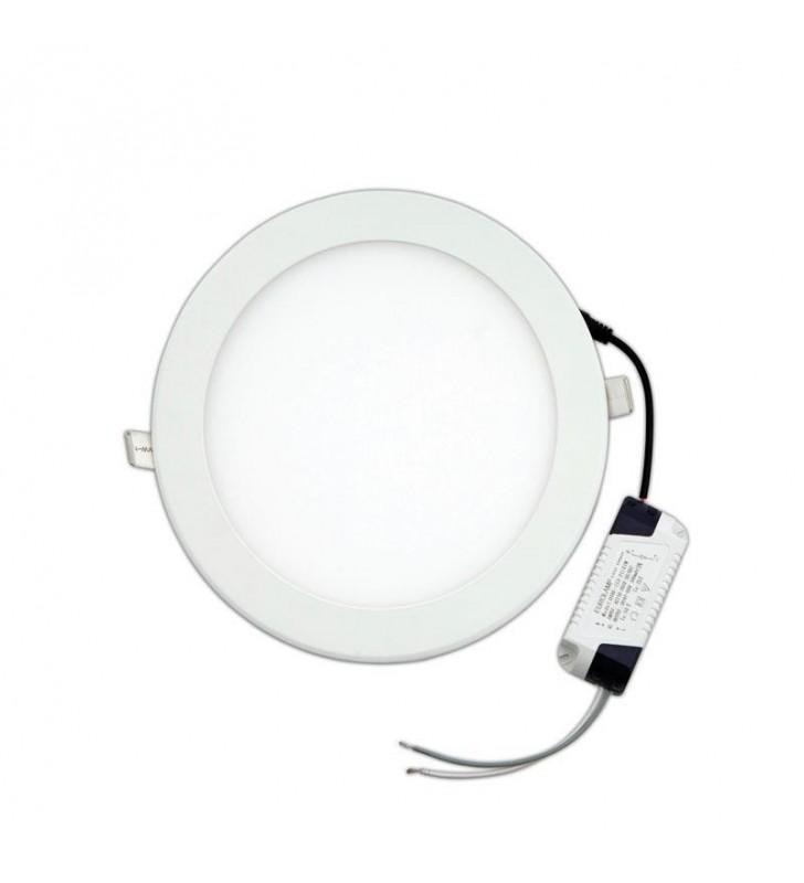 ΠΑΝΕΛ LED Slim 20w 6500k 1800lm ΛΕΥΚΟ Ferrara (145-68010)