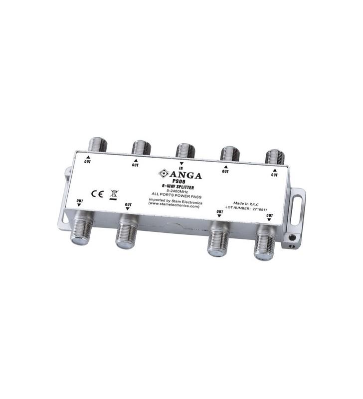 ΔΙΑΚΛΑΔΩΤΗΣ F 1 ΠΡΟΣ 8 (5-2400Μhz) PS08 POWER PLUS