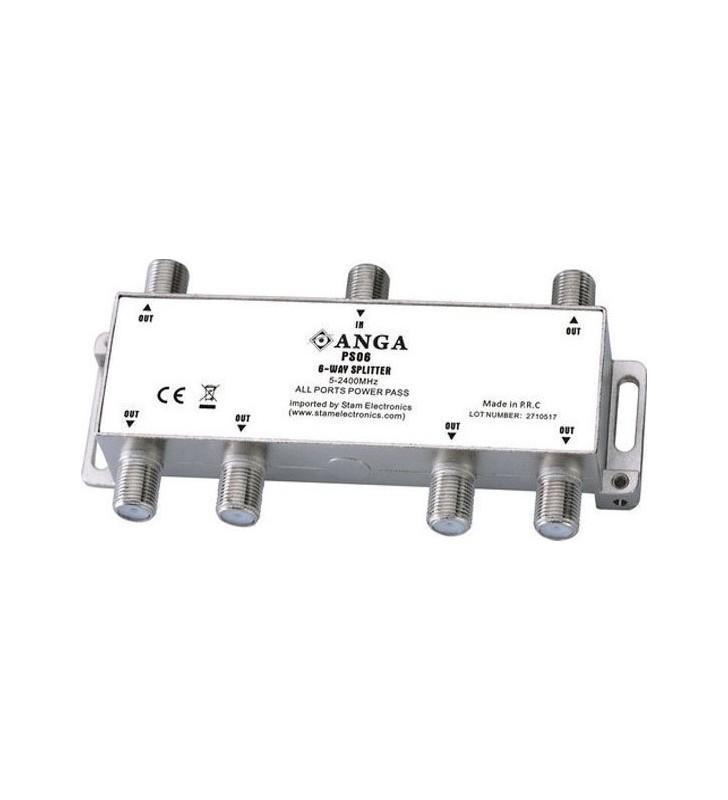 ΔΙΑΚΛΑΔΩΤΗΣ F 1 ΠΡΟΣ 6 (5-2400Μhz) PS06 POWER PLUS