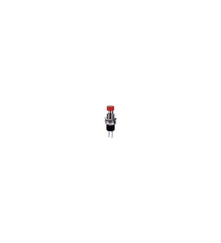 ΔΙΑΚΟΠΤΗΣ Button Push ON 2P RED ΣΤΡΟΓΓΥΛΟ Φ7 OEM
