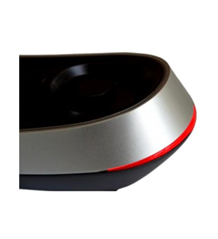 ΣΤΑΘΕΡΟ ΤΗΛΕΦΩΝΟ Maxcom KXT650 Μαύρο - Ασημί με Ένδειξη Εισ/νης Κλήσης Led