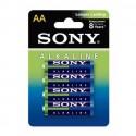 ΑΛΚΑΛΙΚΗ ΜΠΑΤΑΡΙΑ Sony Longer Lasting LR03 size AAA 1.5v Τεμ.4